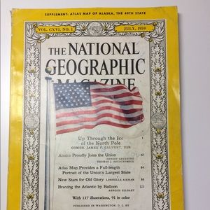The National Geographic Magazine, July 1959